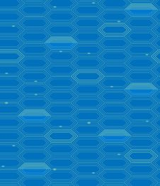 Free Vector Abstract Hexagon Seamless Pattern Royalty Free Stock Image - 20250346