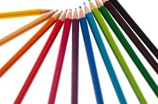 Free Raw Of Pencils Stock Image - 20250381