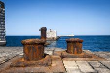 Free Breakwater Ruin Stock Photography - 20250652