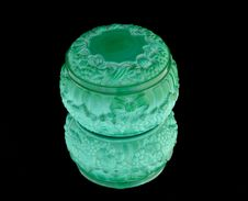 Malachite Box Stock Images