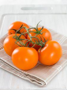 Free Orange Tomatoes Stock Photos - 20251923