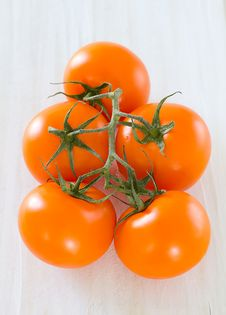 Free Orange Tomatoes Royalty Free Stock Photos - 20251938