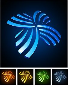 Free Color Vibrant Emblems. Royalty Free Stock Images - 20252049