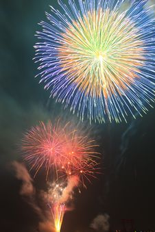 Free Summer Fireworks-5 Stock Photo - 20252150