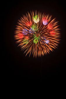 Free Summer Fireworks-6 Royalty Free Stock Photo - 20252155