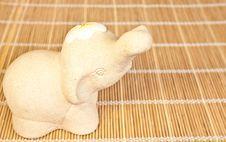 Elephant Stone Royalty Free Stock Image