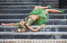 Free Beautiful Fashionable Woman Royalty Free Stock Photo - 20252355