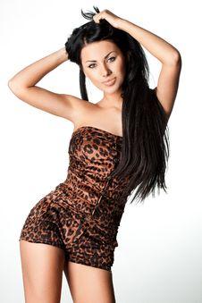 Free Woman In Tigrine Wear Royalty Free Stock Photo - 20252425
