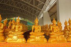 Free Golden Buddha,Thailand. Stock Photo - 20252430