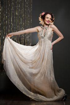 Free Elegant Fashionable Woman Stock Image - 20252491