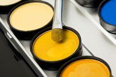 Free Make-up Eyeshadows Stock Photography - 20252492