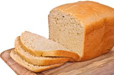 Free The Homestyle White Bread. Stock Photography - 20252532