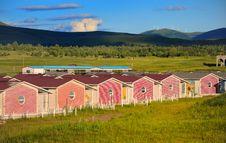 Free Resort Cabins Stock Image - 20252731