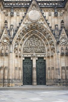 Free Saint Vitus Cathedral Royalty Free Stock Photography - 20253957