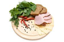 Sandwich Ingridients Stock Image