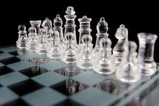 Free Glass Chess Royalty Free Stock Photos - 20255268
