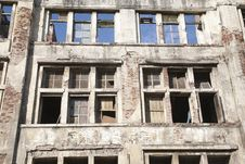 Free Vintage Abandoned Building Royalty Free Stock Photo - 20255405