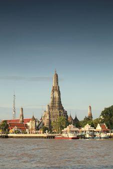 Free Wat Arun - Bangkok - Thailand Royalty Free Stock Images - 20255589
