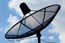 Free Satellite Dish Antennas Stock Photography - 20255922