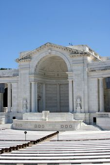 Free Arliington National Cemetery Amphitheater Royalty Free Stock Photo - 20256055