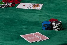 Free Poker Game Royalty Free Stock Photos - 20256498
