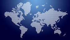 Free World Map Royalty Free Stock Images - 20256569