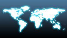 Free World Map Stock Photography - 20256602