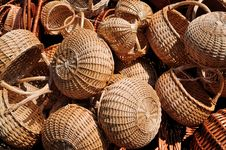 Free Wicker Baskets Stock Images - 20256924