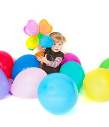 Free Fun Baloons Royalty Free Stock Photos - 20257188