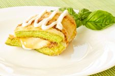 Free Fried Zucchini Stock Photography - 20258282