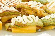Free Fried Zucchini Stock Photo - 20258330