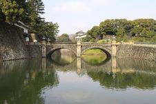 Free Nijubashi Bridge Stock Images - 20258344