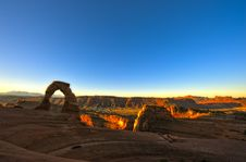 Free Delicate Arch At Sunrise Stock Images - 20259114