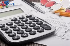 Free Calculator Royalty Free Stock Photo - 20259215