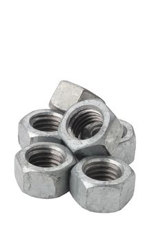 Free Silver Nuts Royalty Free Stock Image - 20259286