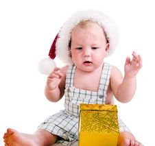 Free Santa Baby Stock Images - 20259444