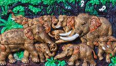 Free Native Thai Style Molding Art Stock Image - 20259661