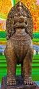 Free Sacred Lion Statue. Stock Photos - 20260443