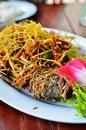 Free Deep Fried Fish With Lemongrass Royalty Free Stock Photo - 20260935