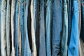 Free Variety Color Of Jeans Texture Royalty Free Stock Images - 20261589