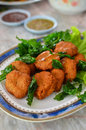Free Spicy Fried Fish Ball Royalty Free Stock Image - 20261746
