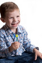 Free A Little Boy With Candy Stock Photo - 20264820