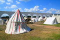 Free White Tents Royalty Free Stock Photography - 20267297