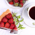 Free Strawberry Tart Stock Images - 20267374
