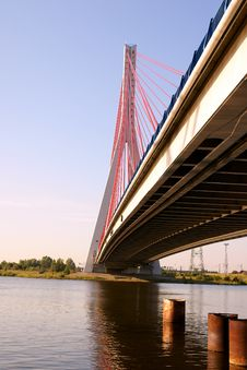 Free Cable-stayed Bridge Stock Photography - 20260152