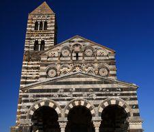 Rural Church In Sardinia Royalty Free Stock Photography