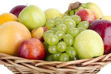 Free Fruit Basket3 Stock Image - 20260291