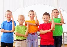Free Group Classmates Stock Photos - 20260473