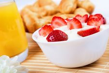 Free Early Breakfast. Royalty Free Stock Photo - 20260475