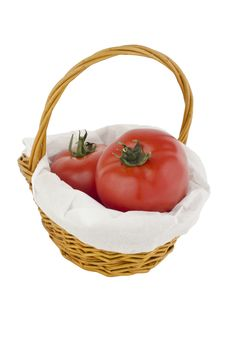 Free Tomato In Basket Stock Images - 20260594